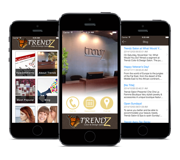 Trendz Salon Mobile App